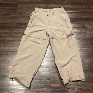 🍭 The North Face girls convertible pants L